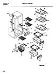 Diagram for 06 - Interior Food & Freezer  Compartmen
