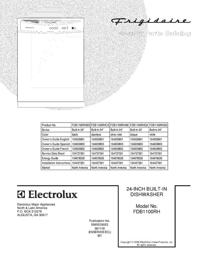 Diagram for FDB1100RHC0