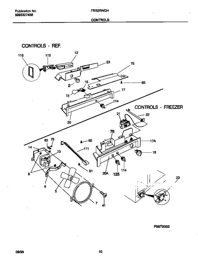 Diagram for FRS26WQHD0