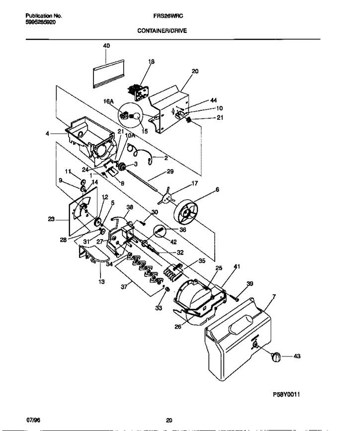 Diagram for FRS26WRCW4