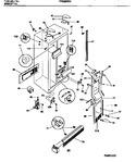 Diagram for 04 - Cabinet, Light Shields, Mullion