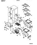 Diagram for 05 - Shelves, Water Tank, 3 Door Mullion