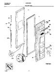 Diagram for 02 - Frz Door