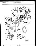 Diagram for 10 - Ice Door, Dispenser And Water Tanks