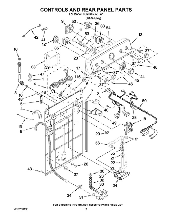 Diagram for 3UMTW5955TW1