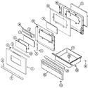 Diagram for 03 - Door/drawer (adw)