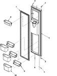 Diagram for 08 - Freezer Door