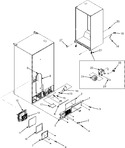 Diagram for 01 - Cabinet Back/front Rollers