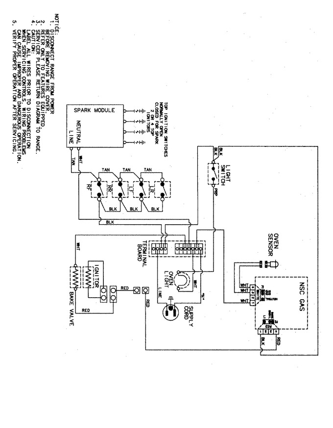 Diagram for MGR4452BDW