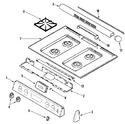 Diagram for 02 - Control Panel/top Assembly