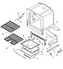 Diagram for 05 - Oven/base