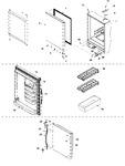 Diagram for 08 - Refrigerator Door