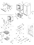 Diagram for 06 - Interior Cabinet & Freezer Shelving
