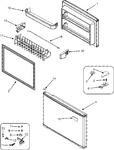 Diagram for 04 - Freezer Door