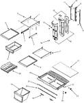 Diagram for 07 - Shelves & Accessories
