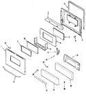 Diagram for 03 - Door/drawer (adq Adw)