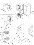 Diagram for 07 - Interior Cabinet & Freezer Shelving