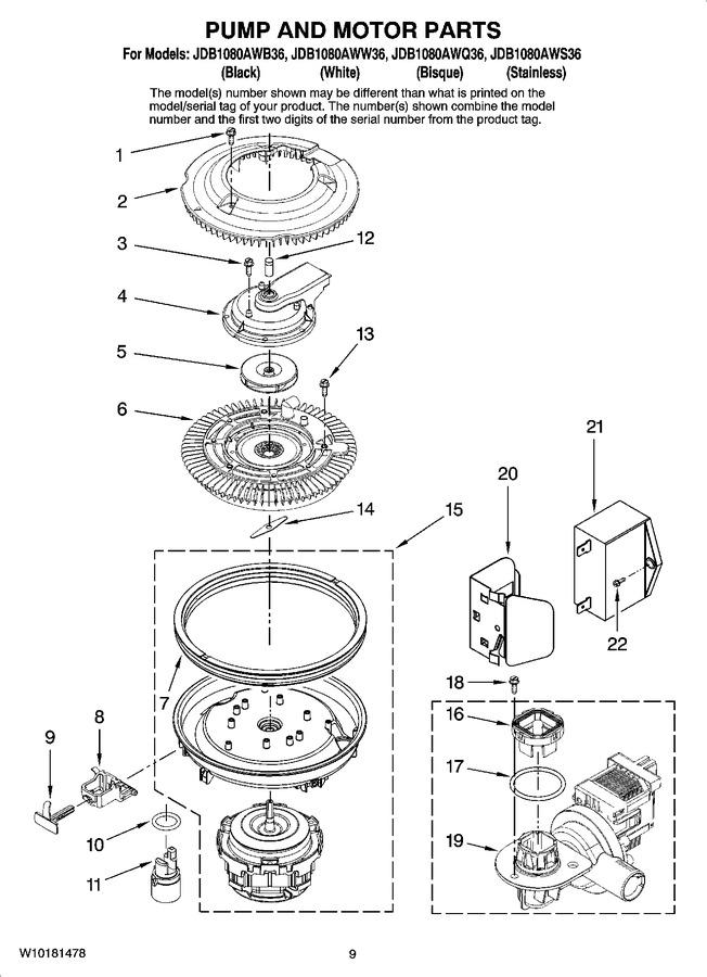 Diagram for JDB1080AWS36