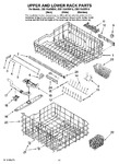 Diagram for 09 - Upper And Lower Rack Parts
