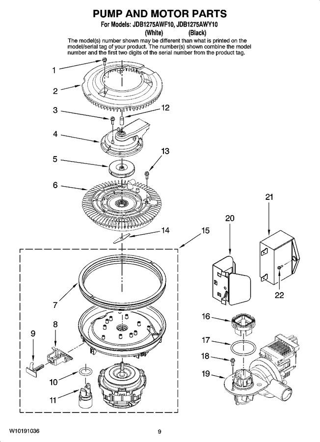 Diagram for JDB1275AWY10