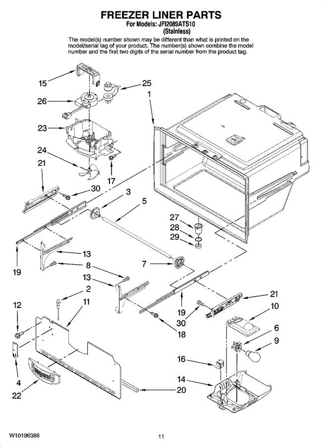 Diagram for JFI2089ATS10