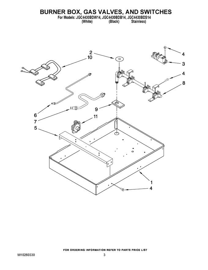 Diagram for JGC4430BDB14