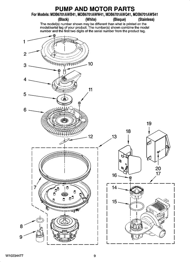 Diagram for MDB6701AWW41