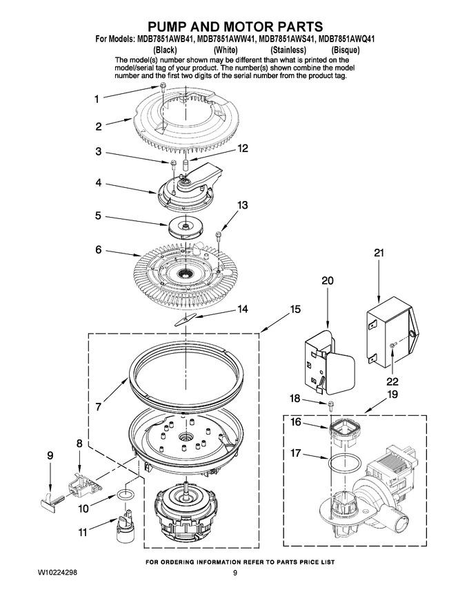 Diagram for MDB7851AWW41