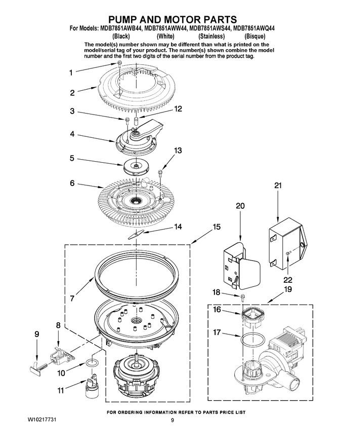 Diagram for MDB7851AWW44