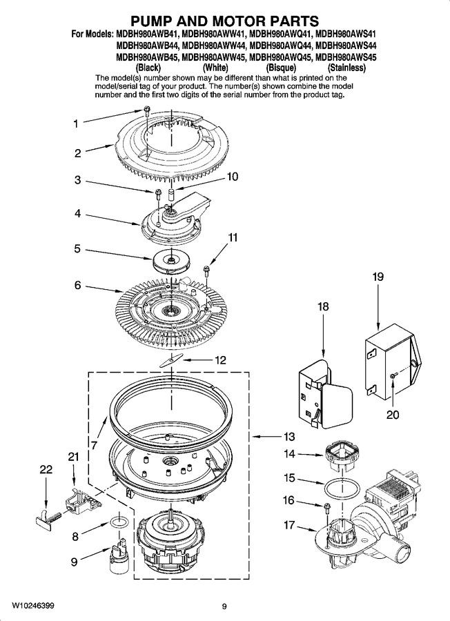 Diagram for MDBH980AWB41