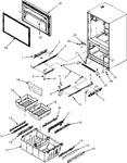 Diagram for 04 - Frz Door/drawer/toe Grille/ctr Hinge