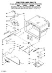 Diagram for 05 - Freezer Liner Parts