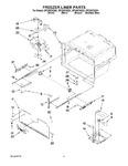 Diagram for 06 - Freezer Liner Parts