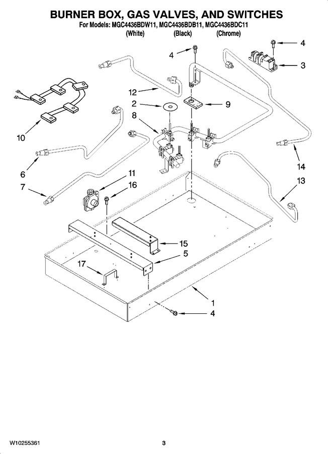 Diagram for MGC4436BDB11