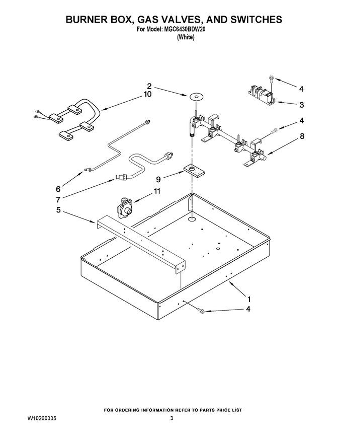 Diagram for MGC6430BDW20