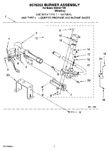 Diagram for 04 - 8576353 Burner Assembly, Optional Parts (not Included)