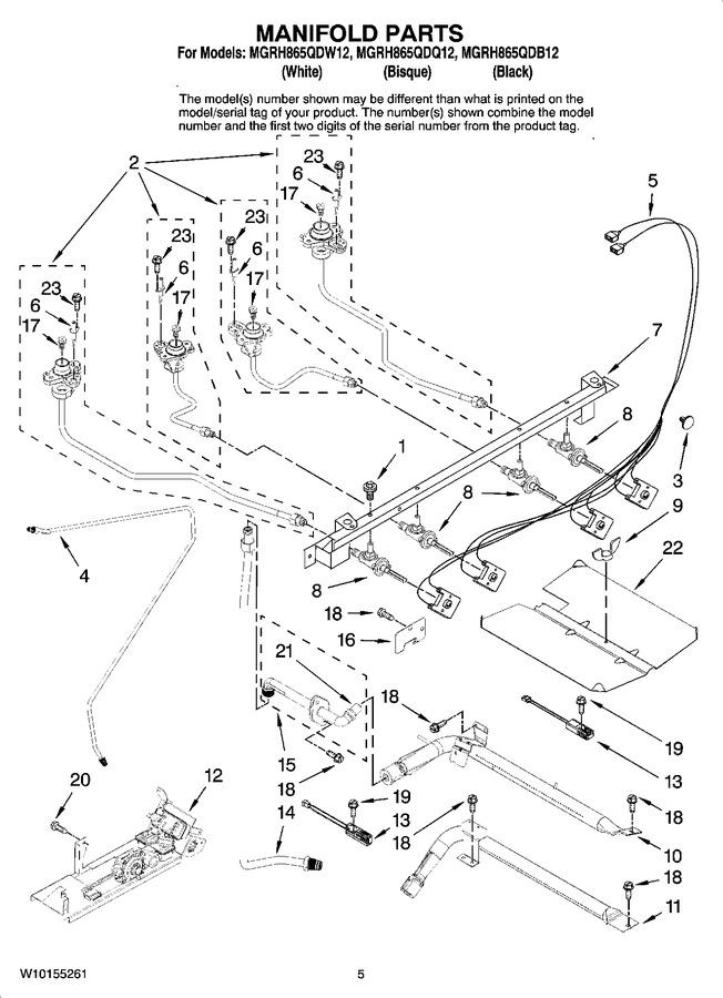 Diagram for MGRH865QDQ12