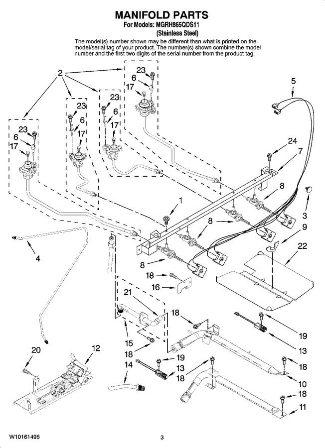Diagram for MGRH865QDS11