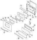 Diagram for 03 - Door/drawer