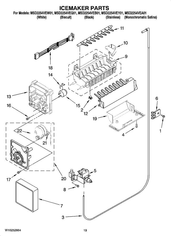 Diagram for MSD2254VEB01