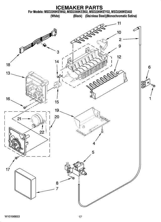 Diagram for MSD2269KEW02
