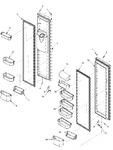 Diagram for 14 - Ref/fz Door And Shelf