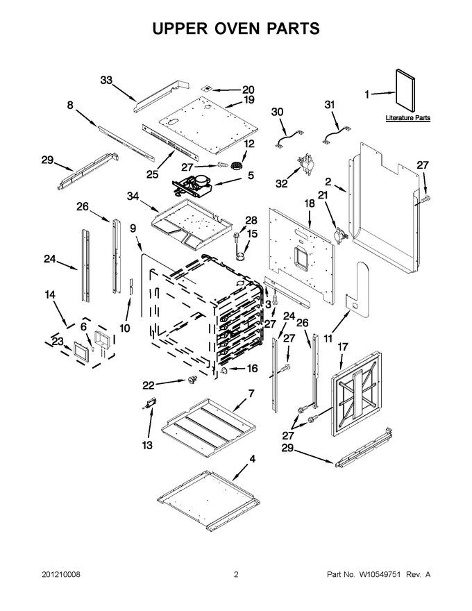 Diagram for JJW3830WP02