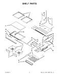 Diagram for 04 - Shelf Parts