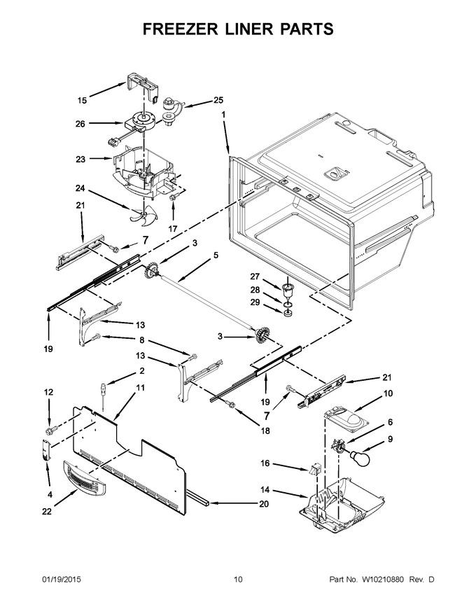Diagram for MFI2269VEQ10