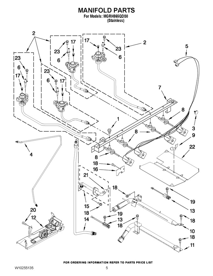 Diagram for MGRH865QDS0