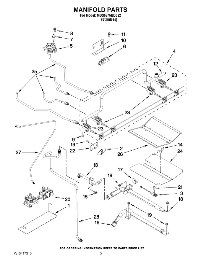 Diagram for MGS5875BDS22