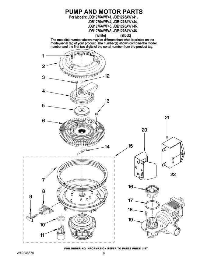 Diagram for JDB1275AWF44