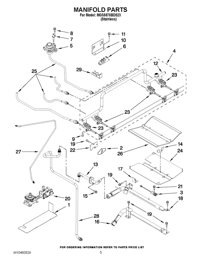 Diagram for MGS5875BDS23