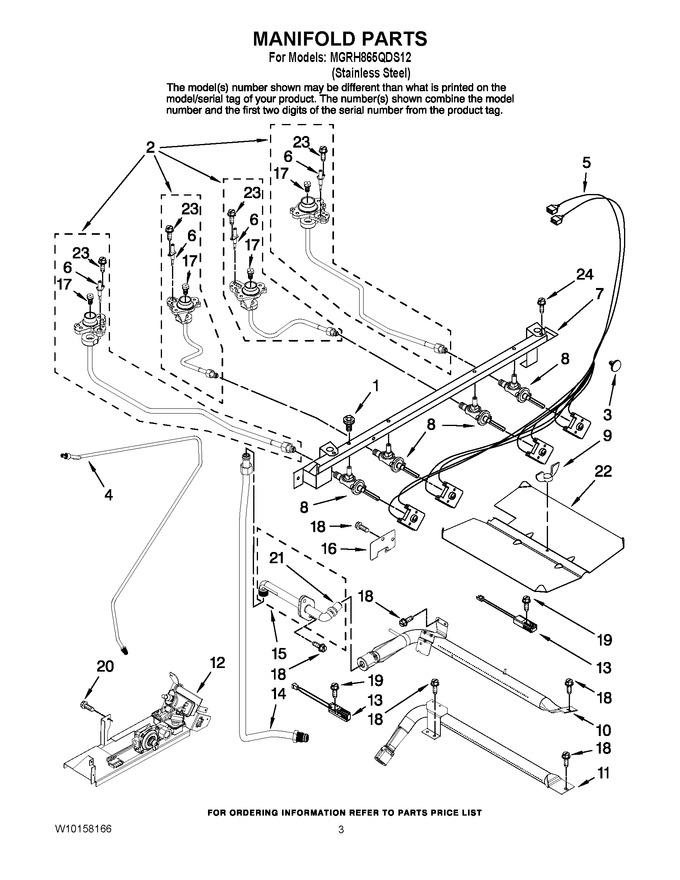 Diagram for MGRH865QDS12